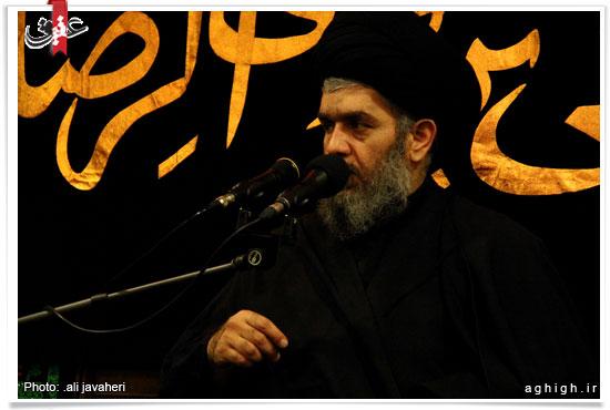 گزارش تصویری/ بیت الحسین در روز شهادت امام رضا(ع)