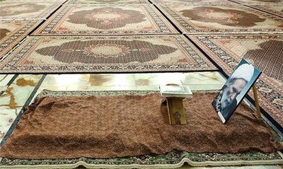 مزار آیت الله آقا مجتبی تهرانی