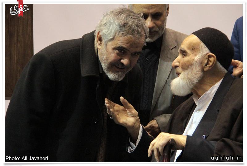 مراسم تجلیل از استاد حاج علی آهی