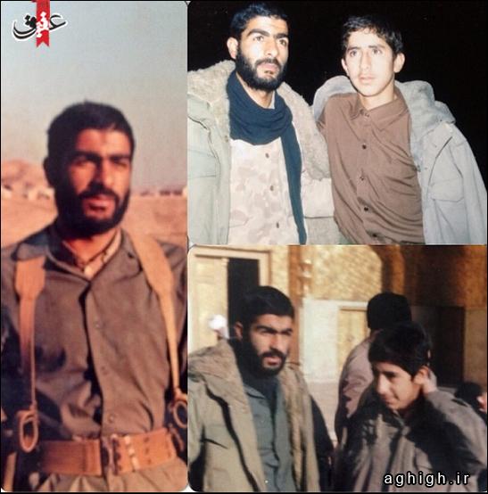 حاج محمدرضا طاهری و مداح شهید محسن گلستانی