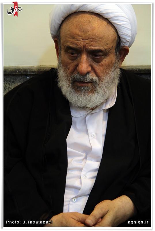 شیخ حسین انصاریان در حسینیه همدانی ها