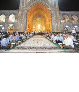 توصیه های امام رضا برای ورود به ماه مبارک رمضان