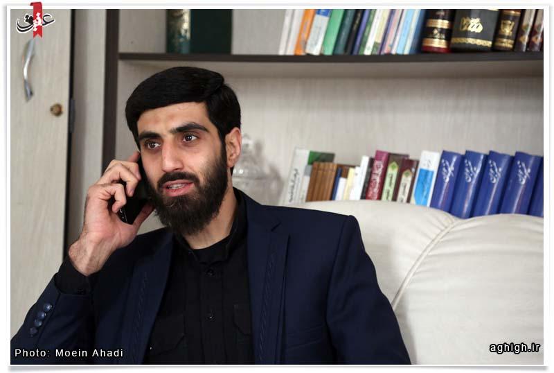گفتگو با سید رضا نریمانی: از اول سخنرانی جلسه ما پر از جمعیت است