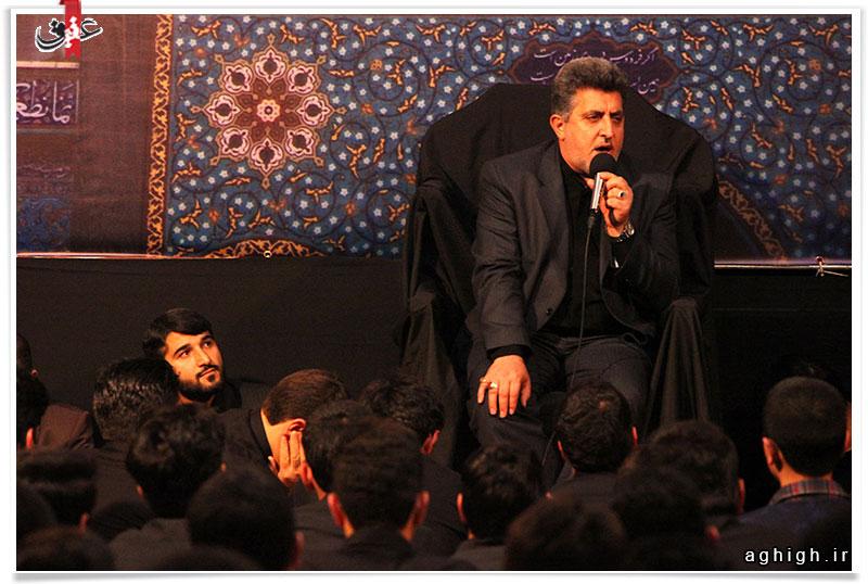 حاج محسن طاهری و حاج ابوذر بیوکافی شب وفات حضرت زینب (س) 94