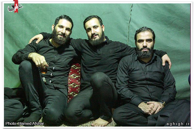 عکس حرم امام حسین شب جمعه