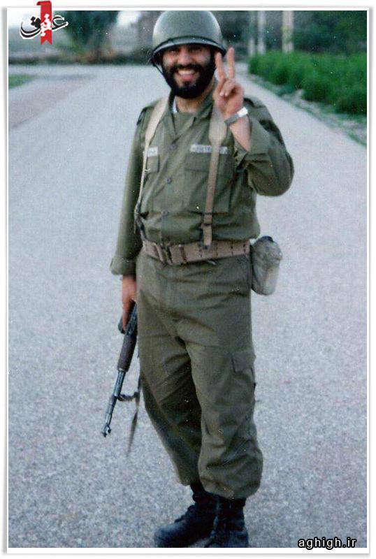 حاج سید مهدی میرداماد در دوران سربازی