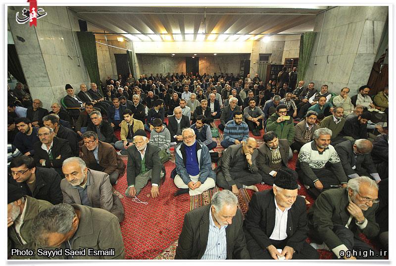 اولین سالگرد شهید مدافع حرم سعید انصاری در مسجد نظام مافی
