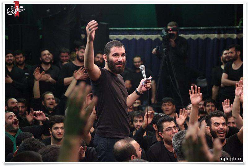 اگه رفتی زیر قبه حسین  یادم كن - محمد حسین حدادیان