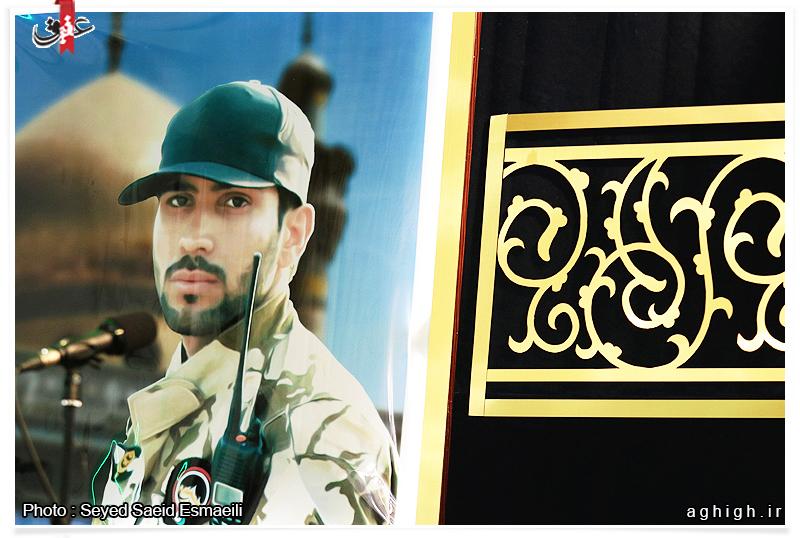 مراسم دومین سالگرد شهادت شهید مدافع حرم علی آقا عبدالهی